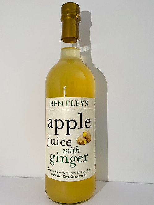 Bentley's - Apple Juice with Ginger