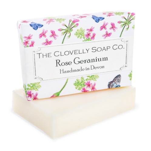 The Clovelly Soap Co - Rose Geranium Soap