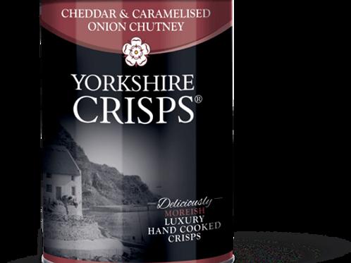 Cheddar & Caramelised Onion Chutney Crisps