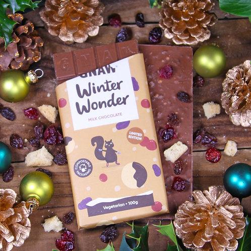 Winter Wonder Milk Chocolate Bar