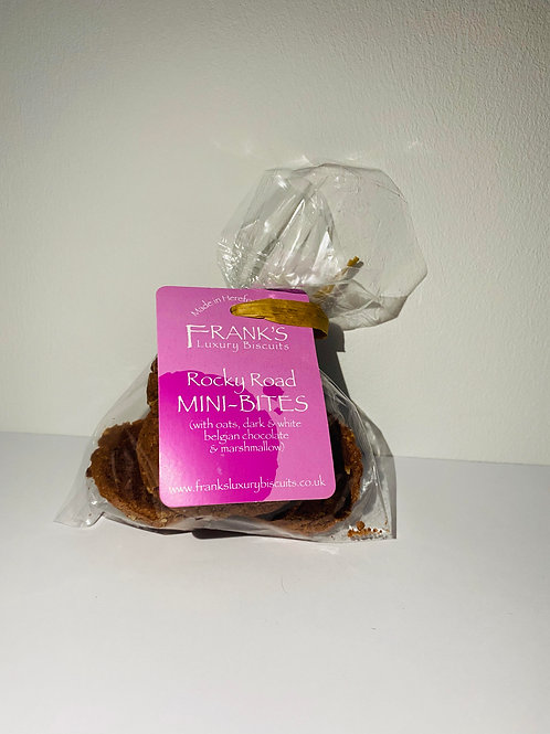 Frank's Luxury Biscuits - Rocky Road Mini Bags