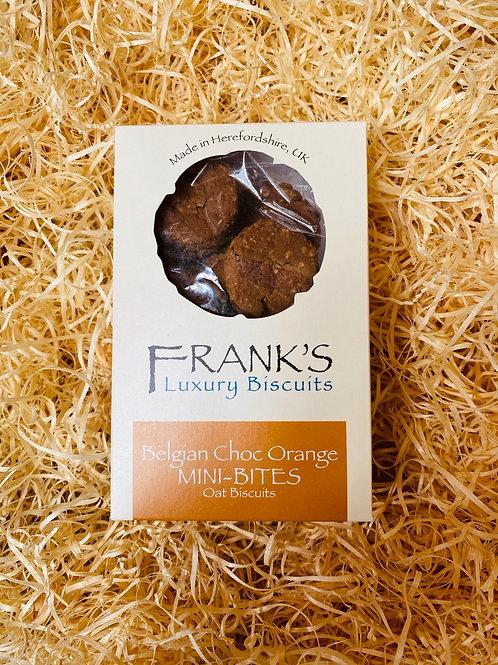 Frank's Luxury Biscuits - Chocolate Orange Mini Bites