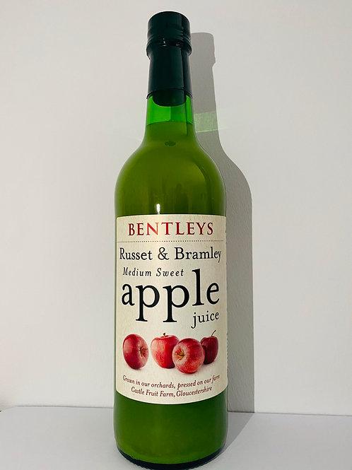 Bentleys - Russet & Bramley Apple Juice