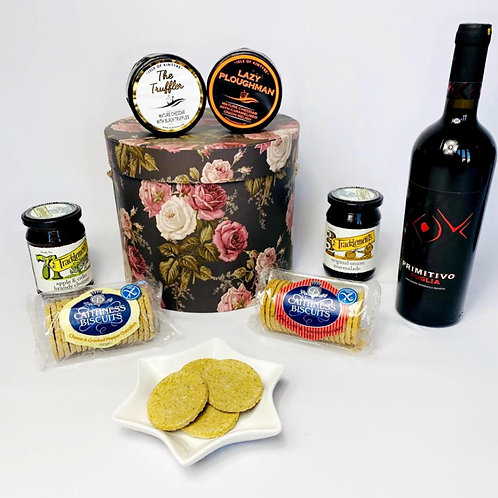 Valentine's Cheese & Wine Night with Flowers