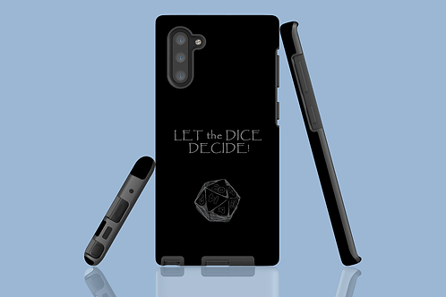 Let the Dice Decide D20 Samsung Galaxy Case