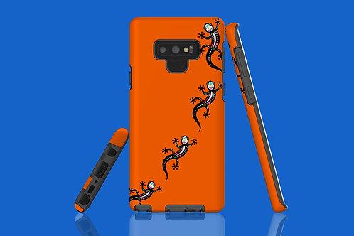 Vivid Orange Skeleton Salamander Samsung Galaxy Case