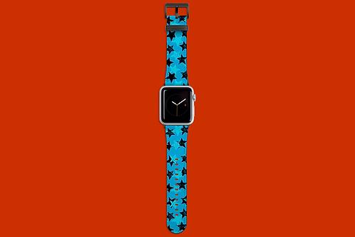 Blue Stars Apple Watch Strap