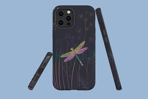 Dragonfly Meadow iPhone Case