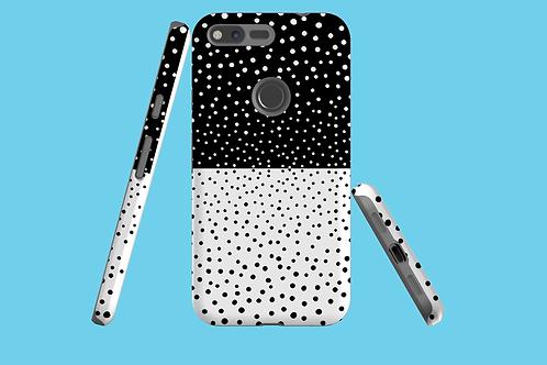 Monochrome Dots Google Pixel Case