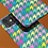 Thumbnail: Pastel Rainbow and Green Houndstooth iPhone Case
