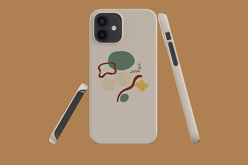 Abstract Mix iPhone Case
