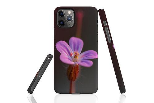 Mauve Flower iPhone Case