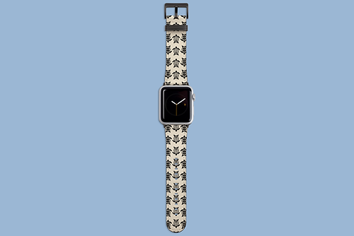 Turtles in a Row Apple Watch Strap