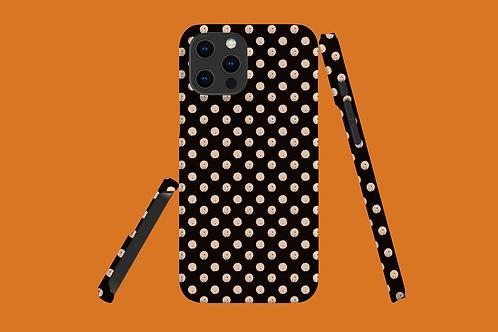 Dark and Light Nude Spots iPhone Case