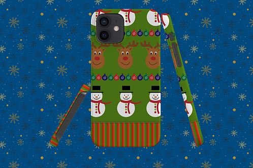 Christmas Jumper Sleeve iPhone Case