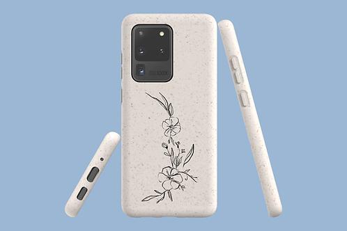 Flower Arc Samsung Galaxy Bio-Case | Environmentally Frien
