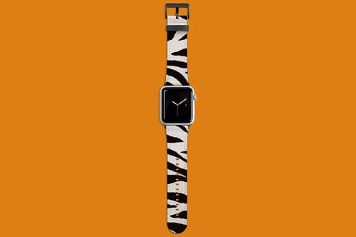 Thick Zebra Stripes Apple Watch Strap