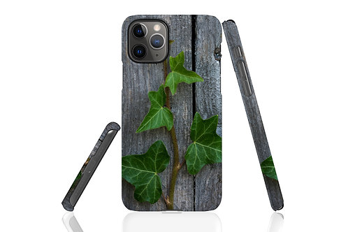Ivy on Wood iPhone Case