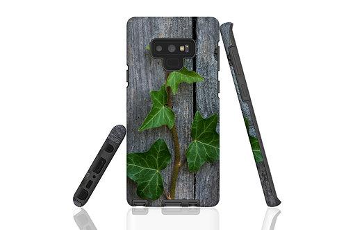 Ivy on Wood Samsung Galaxy Case