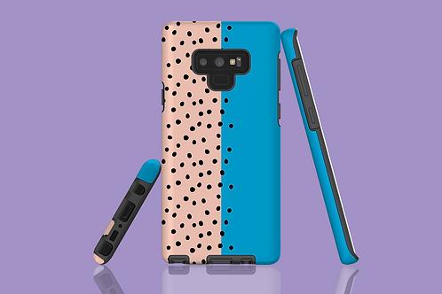 Two Tone Polka Dots Samsung Galaxy Case