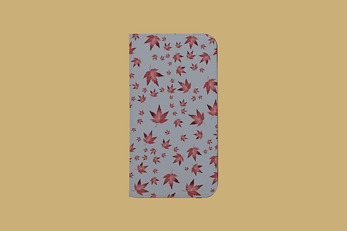 Stormy Autumn Acer iPhone Folio Wallet Case