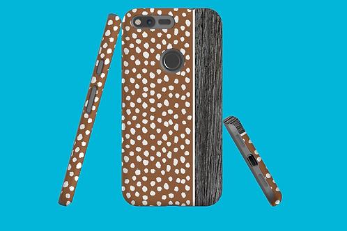 Driftwood Chocolate Dawbs Google Pixel Case