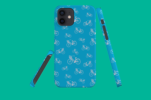 Bicycle Blue iPhone Case
