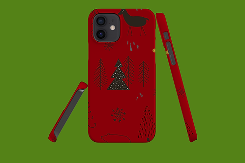 Christmas Critters iPhone Case