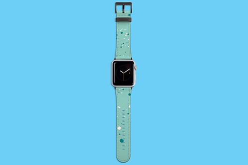 Winter Mint Dots Apple Watch Strap