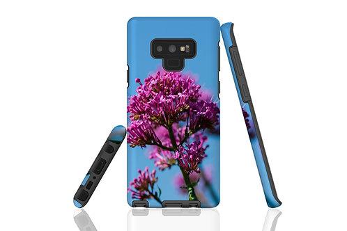 Pink Flower against Blue Sky Samsung Galaxy Case