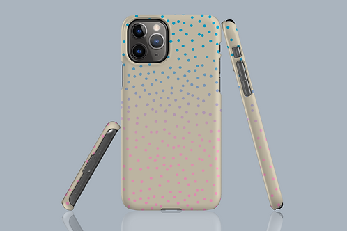 Colour Fade Dots iPhone Case