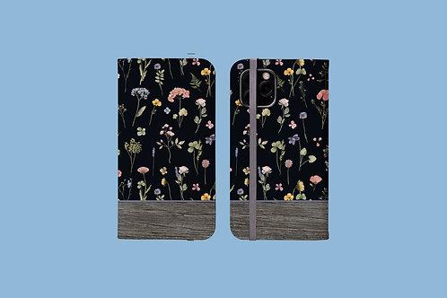 Driftwood Dark Meadow iPhone Folio Wallet Case