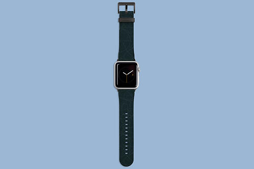 Lines on Green Apple Watch Strap