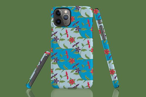 Floral Wave iPhone Case