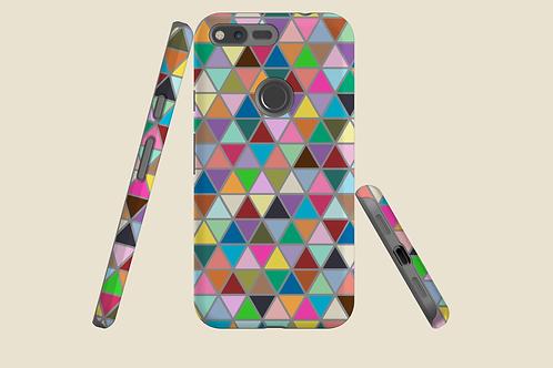 Multicolour Triangles Google Pixel Case