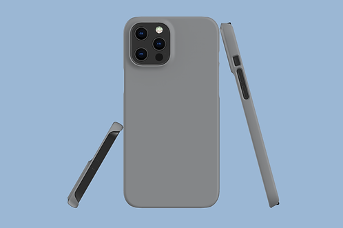 Ultimate Grey Solid Colour iPhone Case