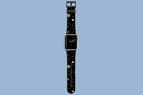 Moons and Stars Apple Watch Strap