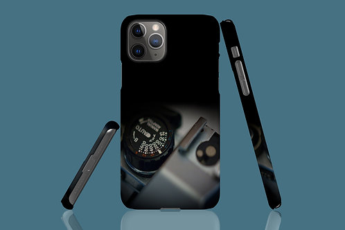 Shaded Vintage Camera Dial iPhone Case 44