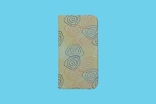 Bullseye iPhone Folio Wallet Case