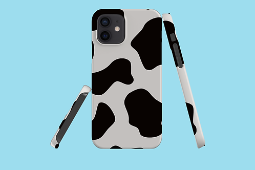 Large Cow Print iPhone Case