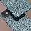 Thumbnail: Black Pattern on Light Blue iPhone Case