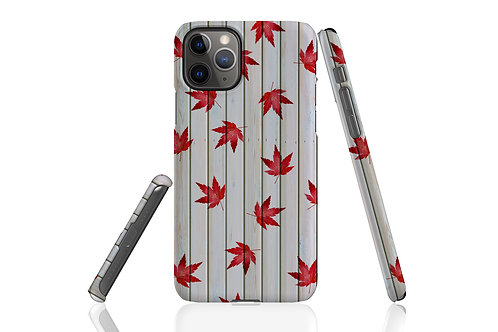 Weathered Shed Autumn Acer iPhone Case