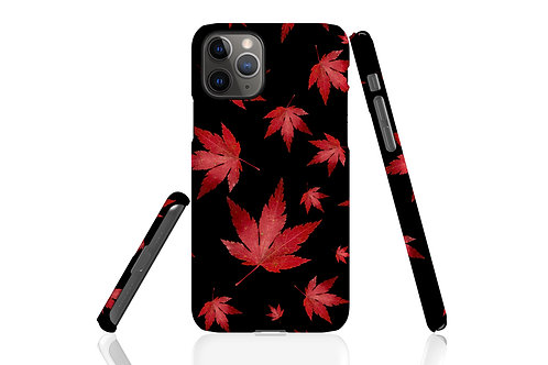 Inky Autumn Acer iPhone Case