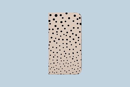 Pepper Spots iPhone Folio Wallet Case