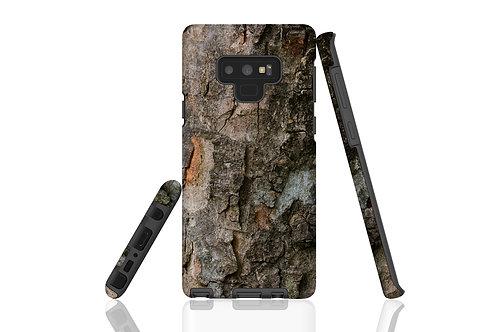 Dark Tree Bark Samsung Galaxy Case