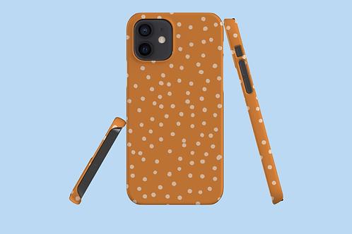 Nude Polka Dots iPhone Case