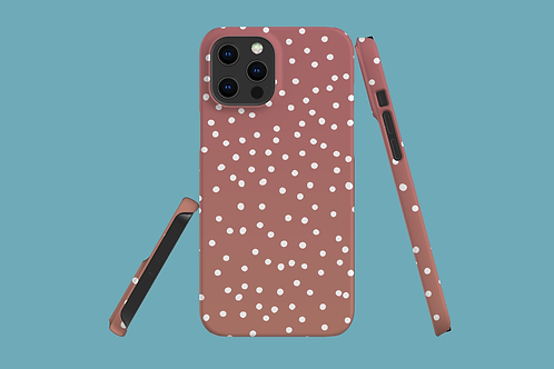 Rose Dots iPhone Case