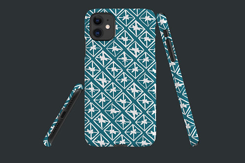Little Boxes Teal iPhone Case 63