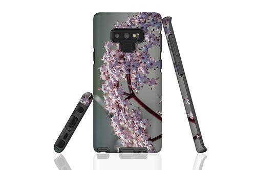 White Flower Cluster Samsung Galaxy Case