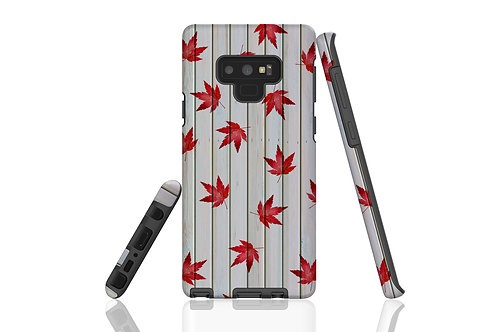Weathered Shed Autumn Acer Samsung Galaxy Case